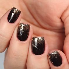 get an ombré glitter thanksgiving nail art look for this holiday season with es. - get an ombré glitter thanksgiving nail art look for this holiday season with essie nail polish. Winter Nail Designs, Cute Nail Designs, Acrylic Nail Designs, Essie Nail Polish, Gel Nails, Acrylic Nails, Manicures, Trendy Nails, Cute Nails