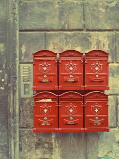 mailboxes #red