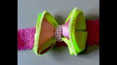 Laço de fita mil faces -Ribbon tie