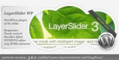 LayerSlider WP - The WordPress Parallax Slider