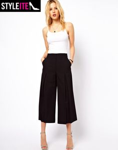 What You Need Now: 9 Culotte Pants For Staying Chic Through Fall