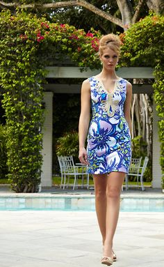 Lilly Pulitzer Janice Knit Shift Dress in Catwalk