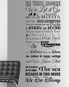 we do disney disney wall decal quote wall decal vinyl wall sticker