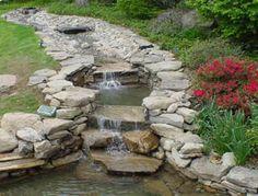 Gartenteiche Neyses wasserfall und bachlaufelemente für bachläufe und wasserfälle in