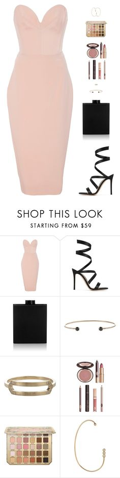 """""""Sin título #4690"""" by mdmsb on Polyvore featuring moda, Christian Siriano, Gianvito Rossi, Victoria Beckham, Jennie Kwon y Charlotte Tilbury"""
