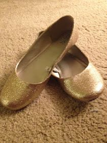 Event Chic: DIY Glitter Flats... I have a boring pair of flats I'm thinking I might bedazzle
