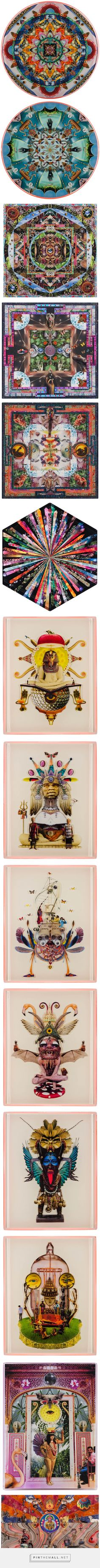 Juxtapoz Magazine - Sebastian Wahl: Psychedelic Gravy for the Receptive Mind