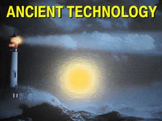 The Arc of the Covenant ancient technology lights