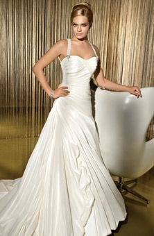 Demetrios - Sensualle : Style No. GR192 : Wedding Dresses Gallery : Brides  Old Hollywood Glamour