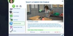 Veterinary Career - The Sims 4 Catalog The Sims, Sims 4 Teen, Sims Cc, Sims Baby, Sims 4 Mods, Vet Jobs, Sims 4 Traits, Sims Packs, Sims 4 Gameplay