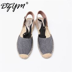 DZYM 2017 Straw Linen Espadrille Ankle Strap Women Ballet Flats Platform Loafers Quality Fisherman Shoes Leopard Zapatos Mujer-in Women's Flats from Shoes on Aliexpress.com | Alibaba Group