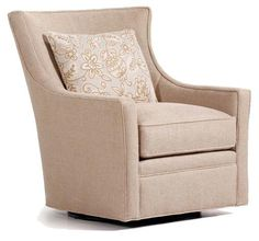 Fine Upholstered Accents Delta Swivel Chair    by Jessica Charles at Jacksonville Furniture Mart