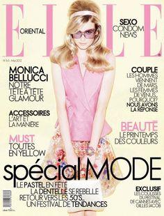 Elle Oriental May 2012 Cover - Karolina Mrozkova