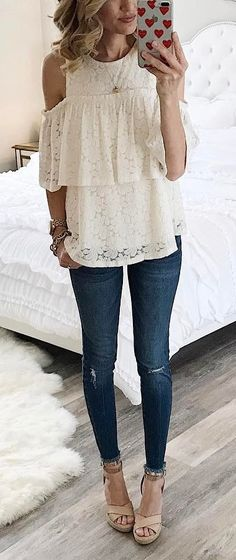 the cutest lace top I ever seen