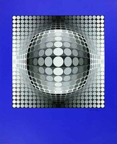 Sol ut by Victor Vasarely