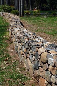 Dry-Stacked Stone Walls - Guilford, CT