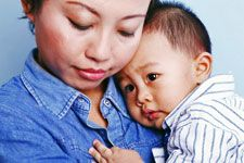 Learn what postpartum depression looks like and how to get help.