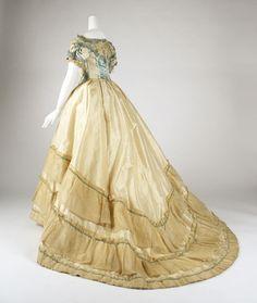 Evening dress | The Metropolitan Museum of Art: 1870