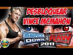 Desbloquear Vince Mcmahon WWE Smackdown vs Raw 2011 PS2