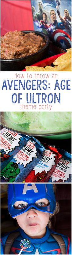 How to Throw a MARVEL The Avengers: Age of Ultron Halloween Party!