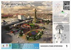Syajaratun - Sayembara IAI Lapangan Merdeka Medan | braquitectura