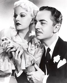 Jean Harlow & William Powell