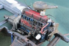 1966 Chevy C10 230 engine - Scale Auto Magazine - For building plastic & resin scale model cars, trucks, motorcycles, & dioramas