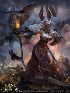 """Bruja legend of the cryptids (or """"You shall not...make a pass at me!!"""""""
