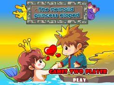 Play #TheMermaidPrincessEloped. Mermaid princess fell in love with human prince.