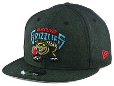 a215b8a2d56 Vancouver Grizzlies New Era NBA Heather Crisp 9FIFTY Snapback Cap