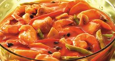 Impress your guests with this comforting seafood stew that's surprisingly easy to prepare! Seafood Stew, Fish And Seafood, Del Monte Recipes, Seafood Recipes, Cooking Recipes, Garlic Shrimp, Filipino Recipes, Prawn, Pinoy