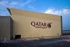 Hangar Qatar Airways - Picture gallery