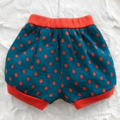 franky grow dotted wool bloomer