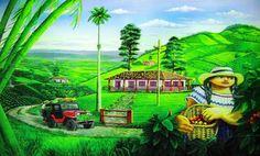 JOHN JAIMER MORALES PINTOR COLOMBIANO  Los Mejores Pintores, Fotógrafos y Escultores de Colombia: PINTURAS: PAISAJES ANDINOS