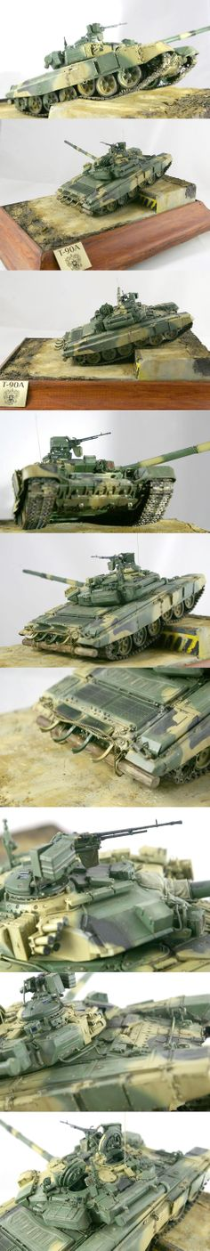 T-90A 1/35 Scale Model