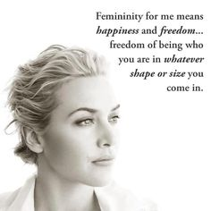 Quotes and inspiration from Celebrity QUOTATION – Image : As the quote says – Description ~Kate Winslet Sharing is everything – We, at Quotes Daily, we think that sharing is everything, so don't forget to share this quote with those Who Matter ! Kate Winslet, Beauty Redefined, Pilates, Celebration Quotes, Body Love, Famous Celebrities, Motivation, Body Image, A Boutique