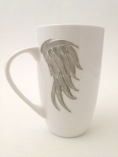 Toasted Glass - Angel Wings Fine Bone China Mug