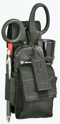 EMS EMT MEDIC Radio Tool Knife Tactical Light Pouch / Made in USA