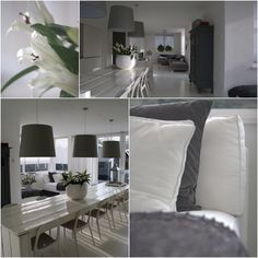 Mooie lange sloophouten eettafel. Styling/inrichting Vive la Maison te Hendrik ido Ambacht