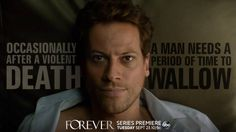 Who wouldn't, really?  #Forever premieres Tuesday, Sept 23 at 10 9c on ABC!