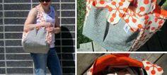 Made by Me Monday – Sew Much Ado Diaper Bag à la Thread Riding Hood {tutorial}