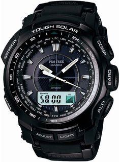 Casio Mens Pro Trek Alarm Chronograph Watch