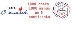 #GoodFrance le 19 mars: retrouvez les 1300 restaurants participants sur 5 continents! #gastronomie cc @good_france! https://twitter.com/good_france https://www.facebook.com/projetgoodfrance