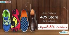 Get Mens footwear like slipers shoes sandals sneekers and more under Rs.499 @Snapdeal  get upto 8.8% extra cashback from us >> http://ift.tt/1QrGExj  #Mensfootwear #slipers #shoes #sandals #sneekers #snapdeal #snapdealoffers #snapdealcashback #snapdealdeals #snapdealcashbackoffers #cashback