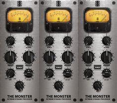 The Monster Extreme Dynamic Processor - Slate Digital Slate Digital, Waves Audio, Loudness, Control 4, Clc, Recording Studio, Software, Dioramas, Music Studios