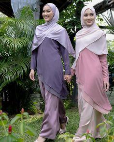 Gambar mungkin berisi: 2 orang, orang berdiri Muslim Dress, Hijab Dress, Fancy Kurti, Girl Hijab, Muslim Girls, Beautiful Hijab, Abaya Fashion, Kebaya, Fasion