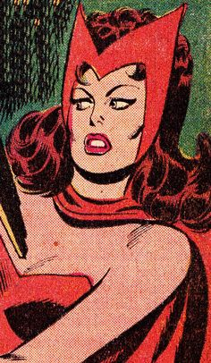 COMIC BOOK CLOSE UP S C A R L E T W I T C H The Avengers #110 (Apr. 1972) Don Heck (pencils), Mike Esposito (inks) & Glenn Wein (colors)