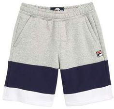 Mens Cotton Shorts, Satin Shorts, Men's Shorts, Boy Fashion, Mens Fashion, Fashion Shorts, Fashion Decor, Fila Outfit, Boys T Shirts