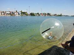 Aquazorbing, alebo dokážete kráčať po vode?