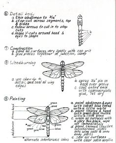 bead embroidery template | FREE DRAGONFLY PATTERNS | Browse Patterns